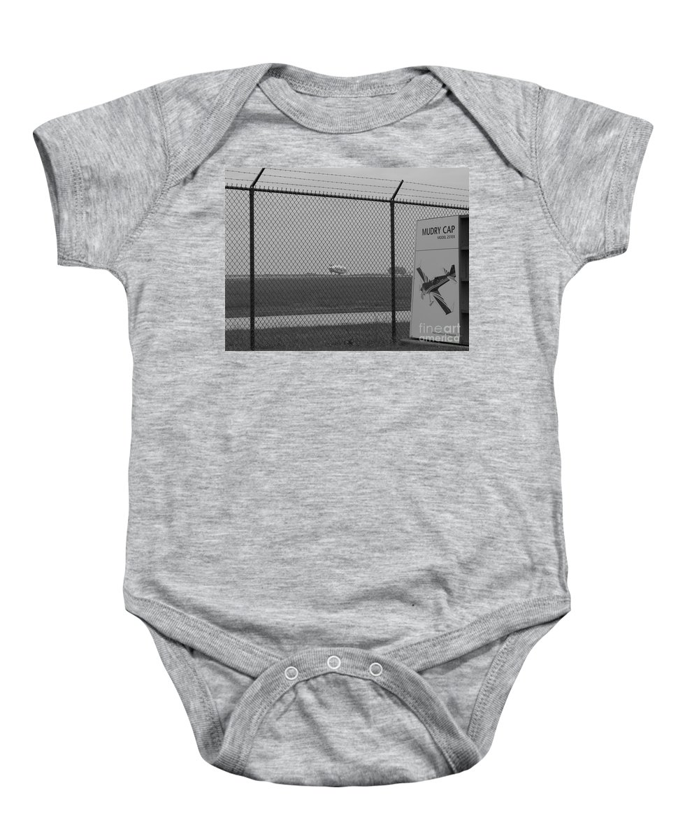 Blimp Baby Onesie featuring the photograph Blimp II by Michael Krek