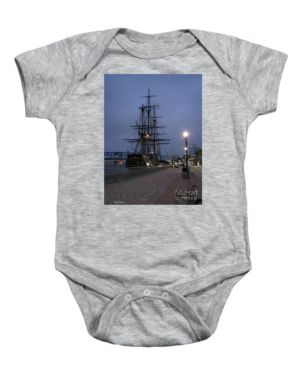 Patzer Baby Onesie featuring the photograph Bounty by Greg Patzer