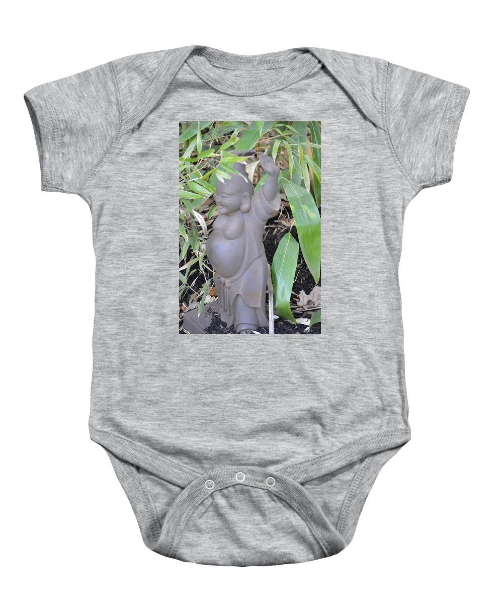 Chinese Culture Baby Onesie featuring the photograph Budai by Sonali Gangane