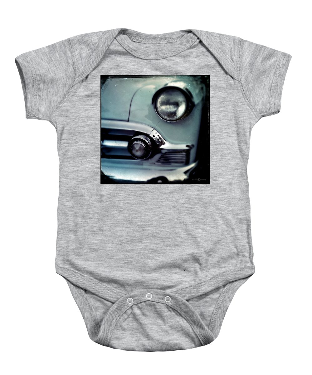 Classic Baby Onesie featuring the photograph Buick by Tim Nyberg