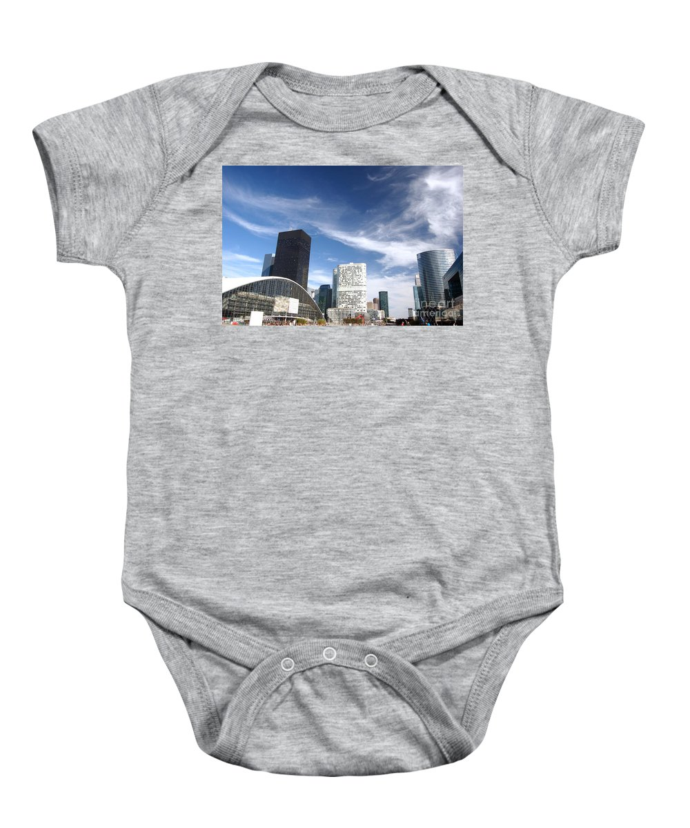Architecture Baby Onesie featuring the photograph Business Architecture by Michal Bednarek
