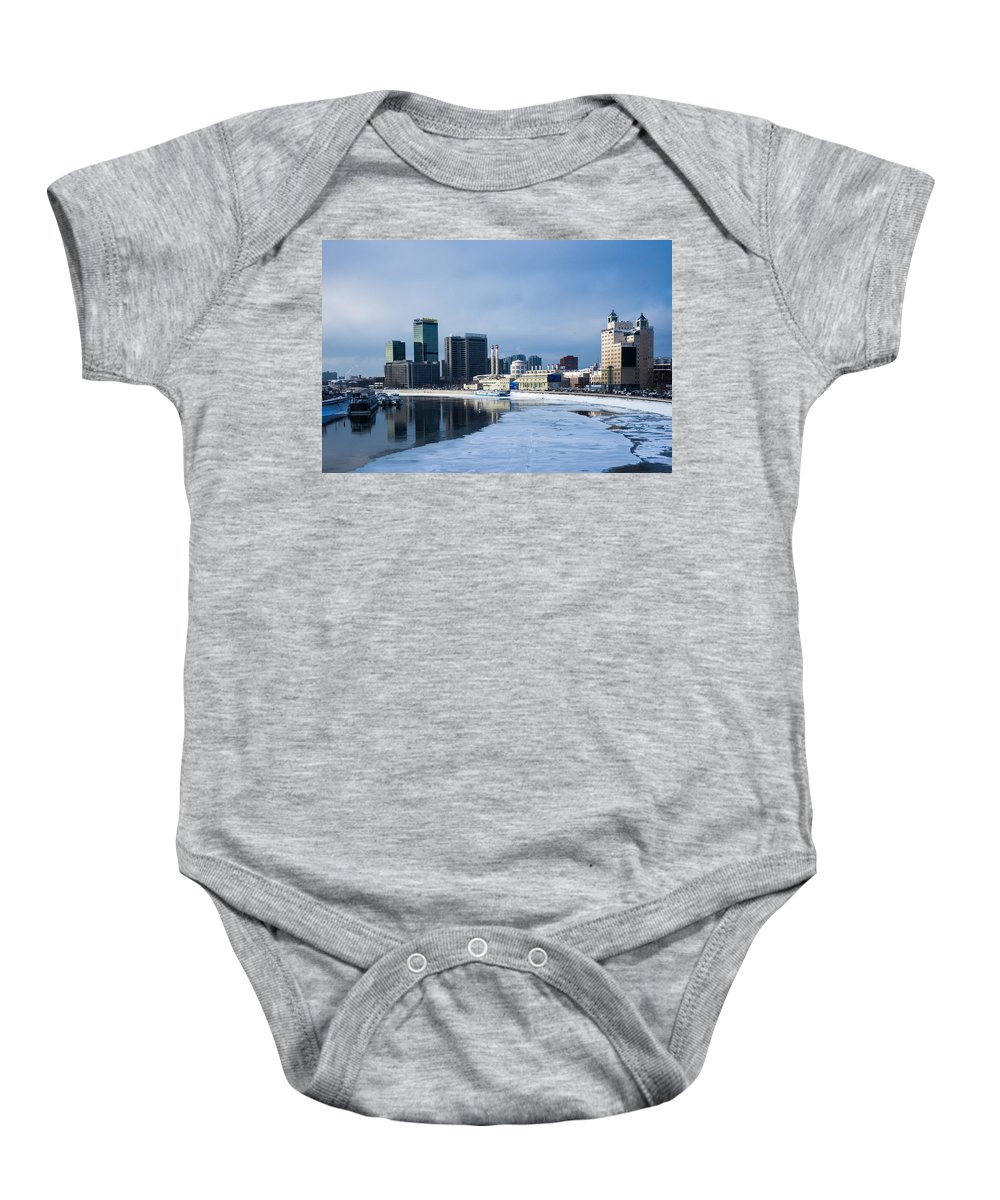Russia Baby Onesie featuring the photograph Business District Of Moscow by Alexander Senin