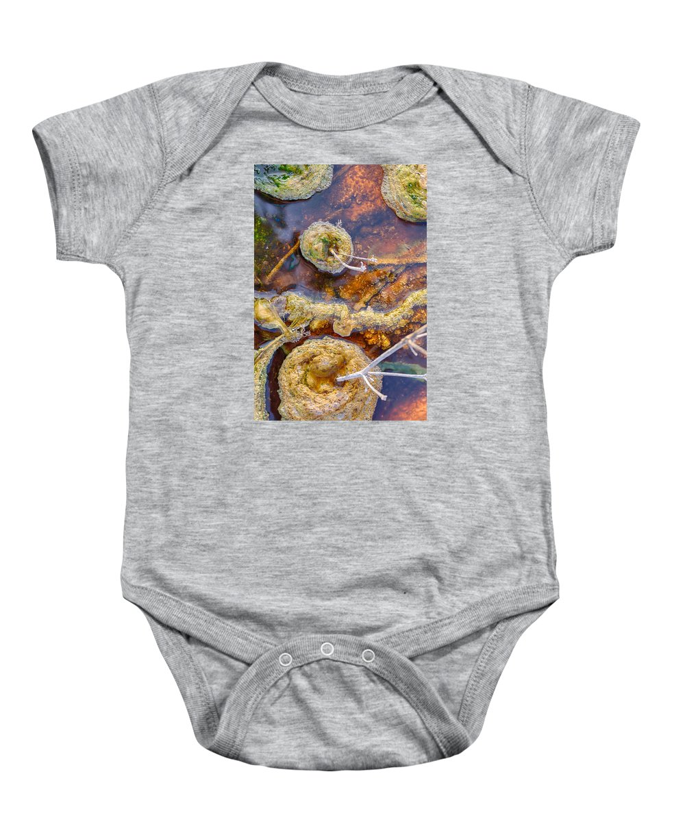 Hot Baby Onesie featuring the photograph Cafe Au Lait Hot Springs by Scott Campbell