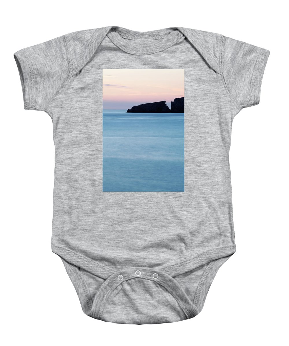 Water Baby Onesie featuring the photograph Cala Mesquida On The Island by David Santiago Garcia