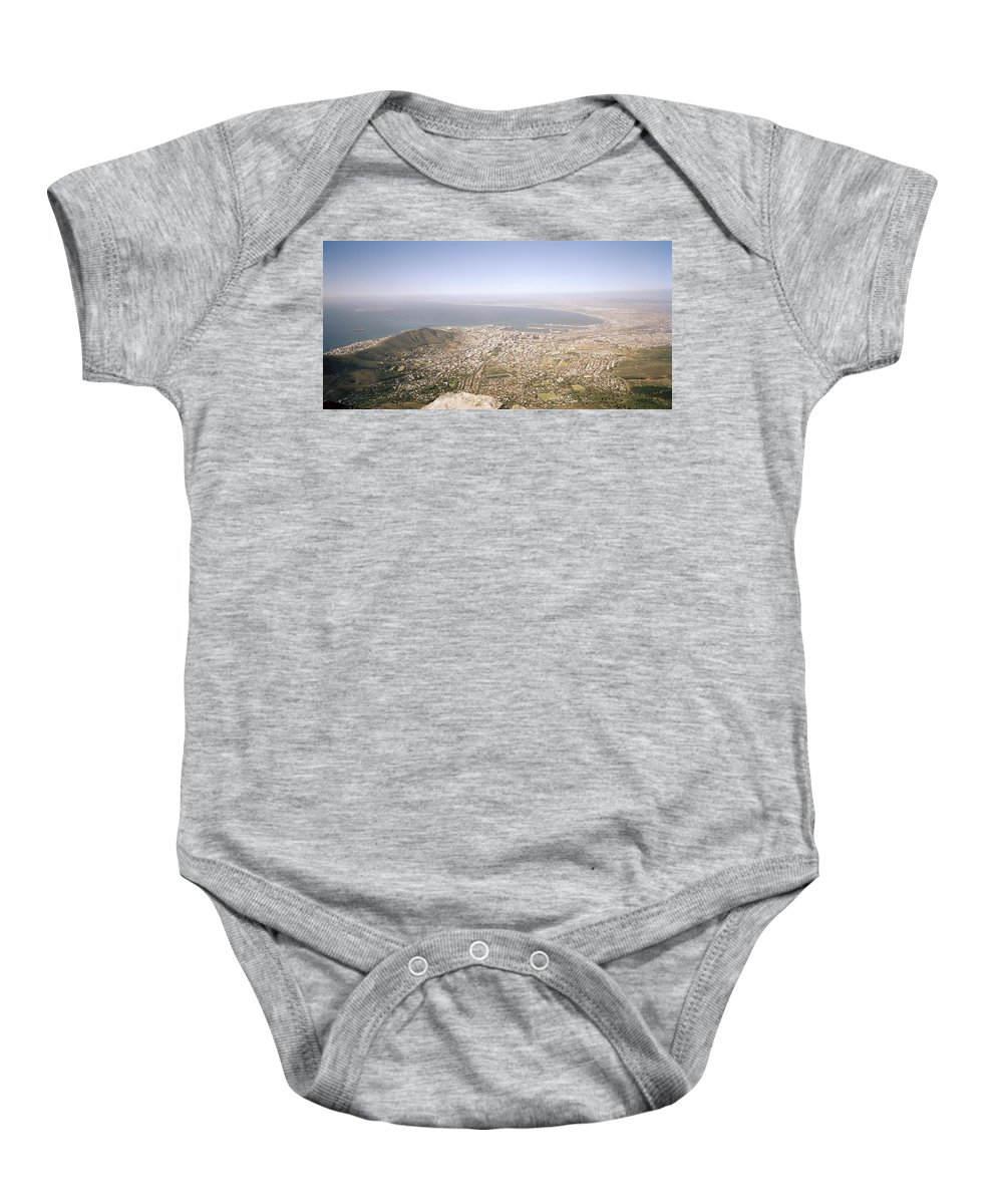 Cape Town Baby Onesie featuring the photograph Cape Town Panoramic by Shaun Higson