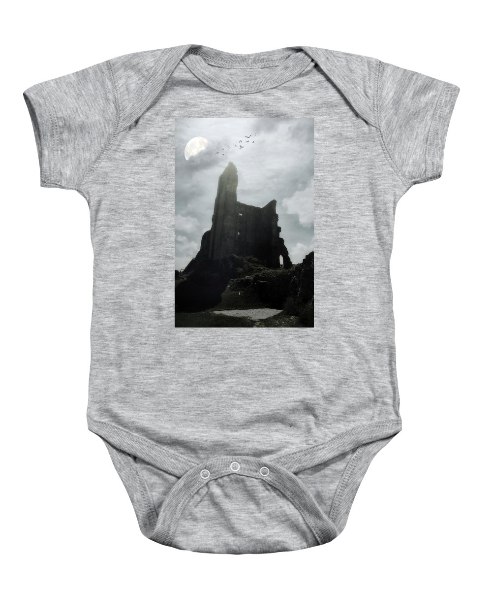 Ruin Baby Onesie featuring the photograph Castle Ruin by Joana Kruse
