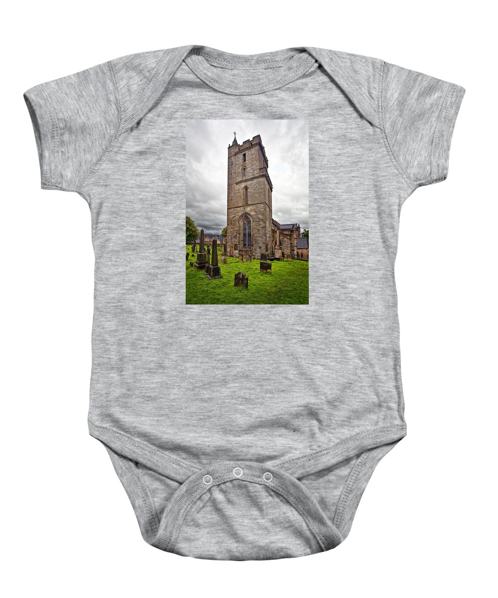 Architecture Baby Onesie featuring the photograph Church Of Holy Rude by Marcia Colelli