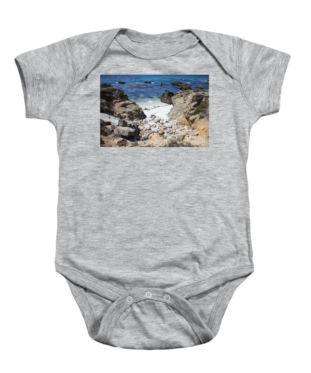 Landscape Baby Onesie featuring the photograph Clear California Cove by Carol Groenen