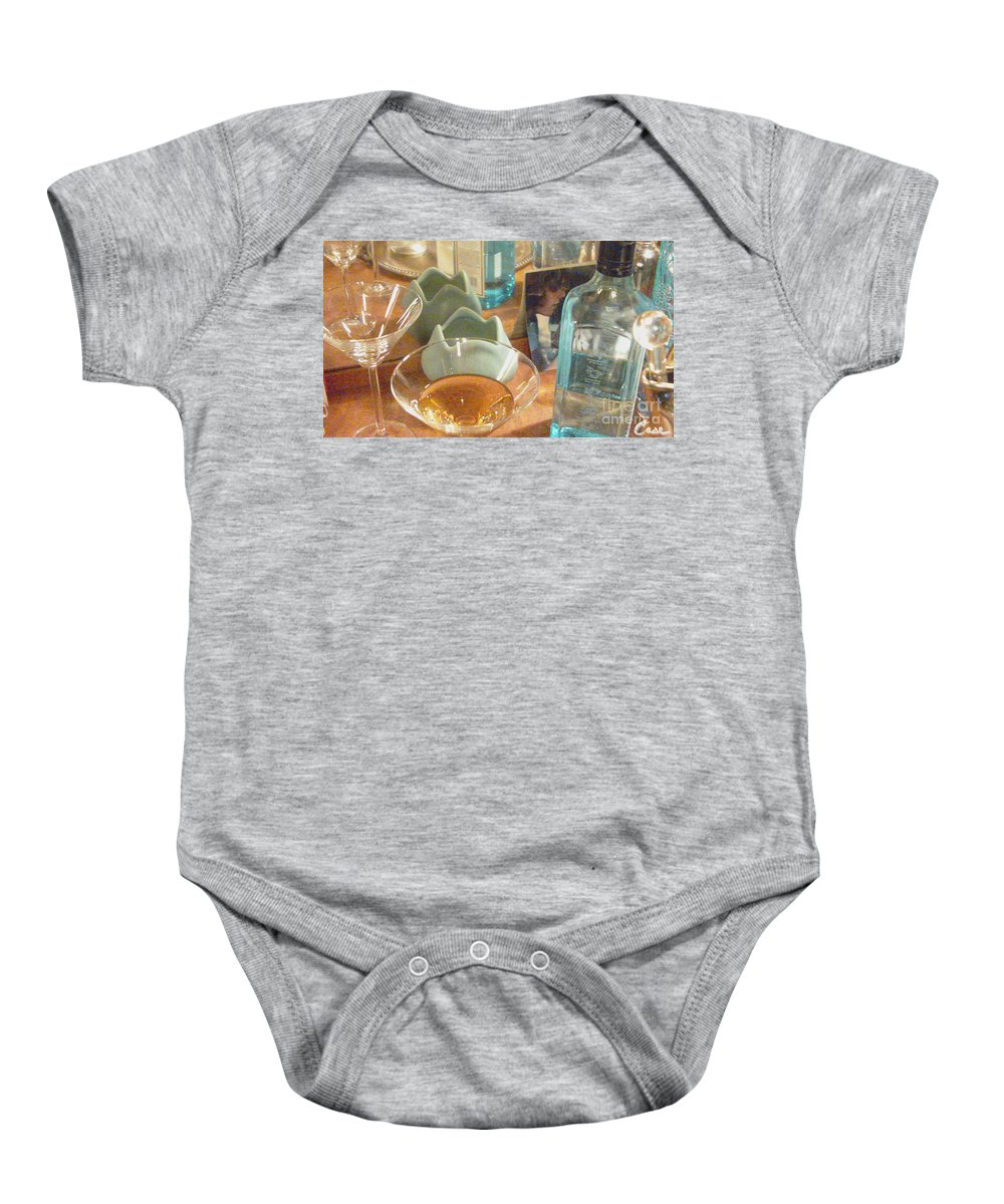 Cocktail Party 2 1211 Baby Onesie featuring the photograph Cocktail Party 2 1211 by Feile Case
