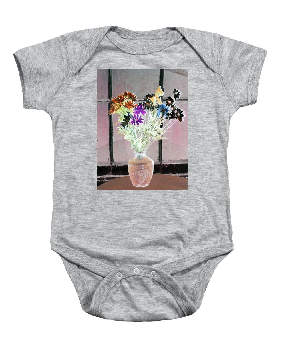 Flower Baby Onesie featuring the photograph Country Comfort - Photopower 453 by Pamela Critchlow
