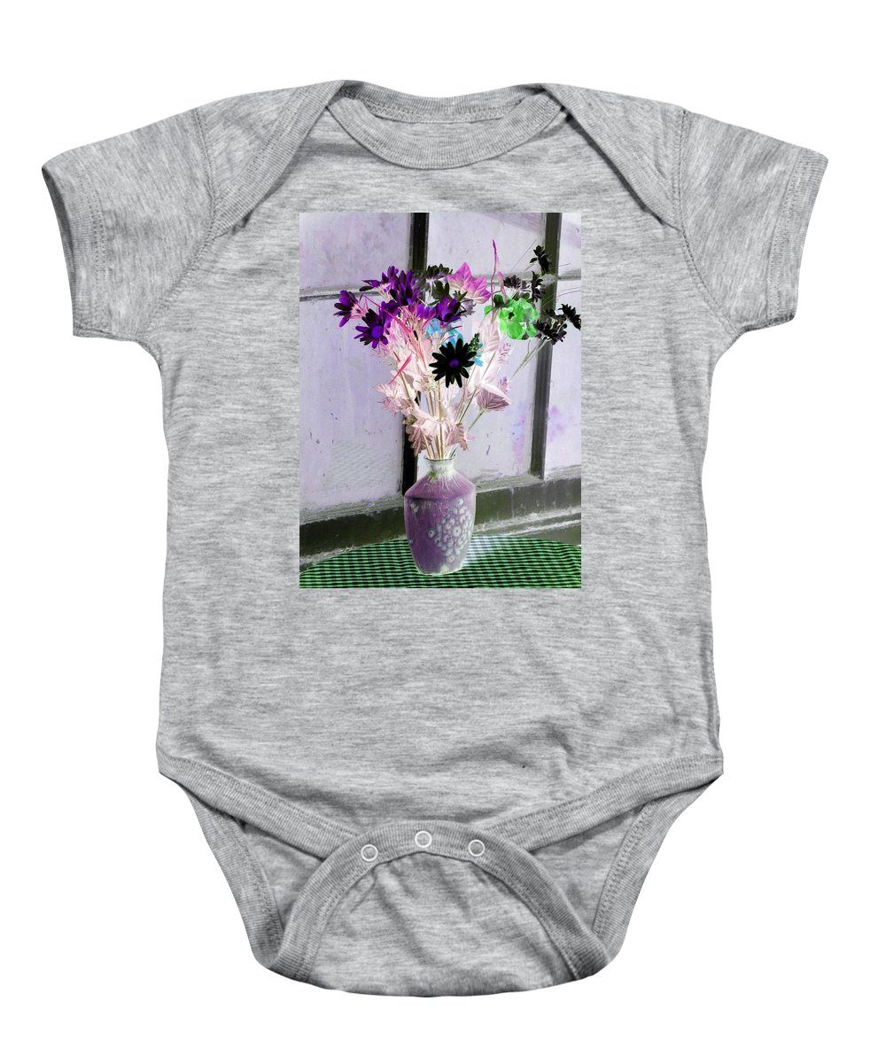 Flower Baby Onesie featuring the photograph Country Comfort - Photopower 476 by Pamela Critchlow
