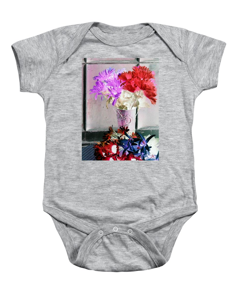 Flower Baby Onesie featuring the photograph Country Comfort - Photopower 488 by Pamela Critchlow
