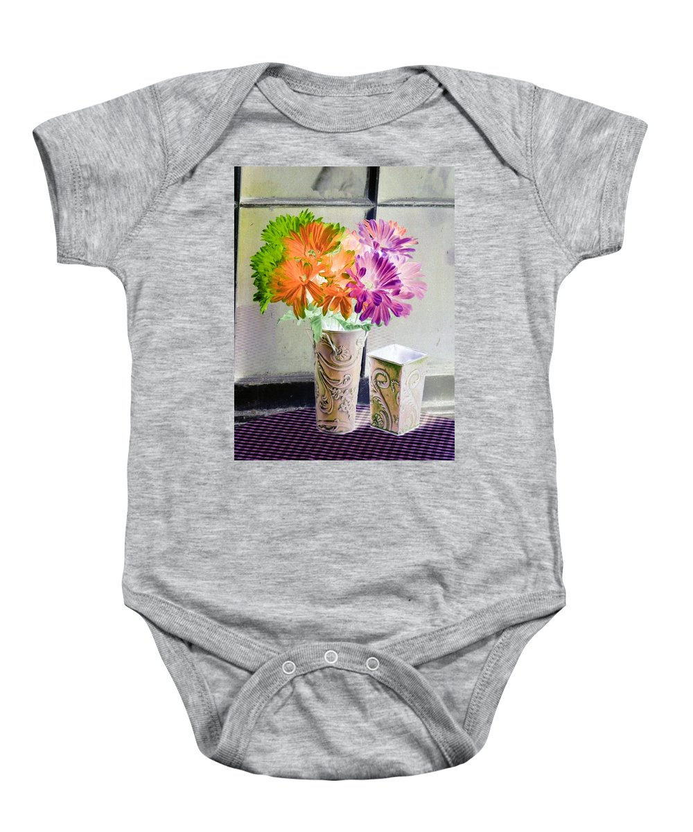 Flower Baby Onesie featuring the photograph Country Comfort - Photopower 491 by Pamela Critchlow