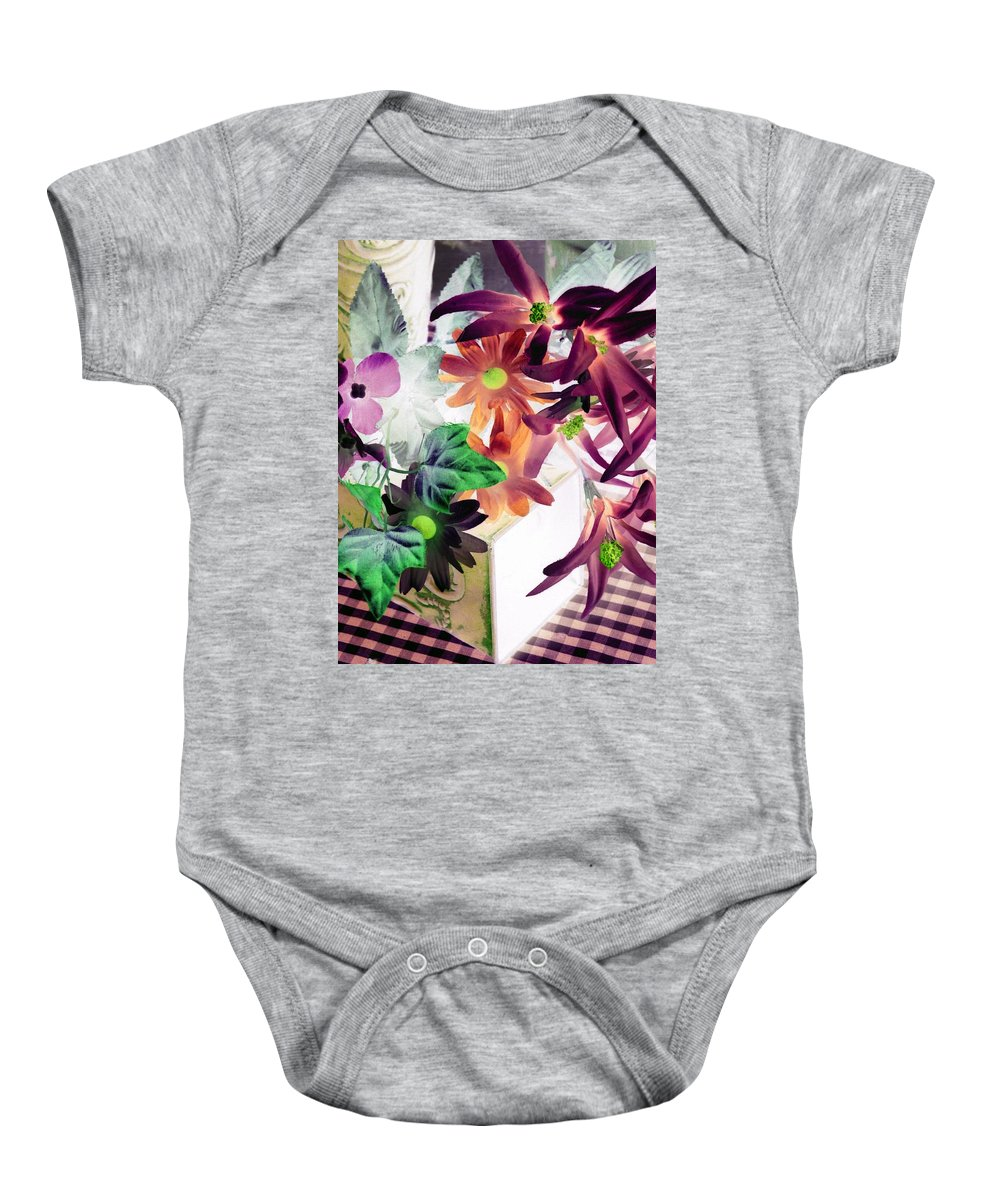 Flower Baby Onesie featuring the photograph Country Comfort - Photopower 520 by Pamela Critchlow
