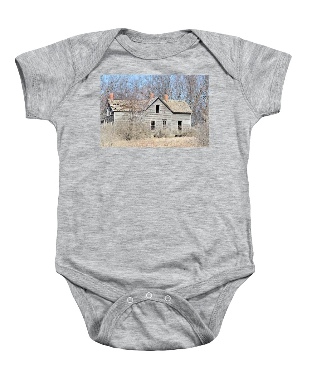 House Baby Onesie featuring the photograph Desolation by Bonfire Photography