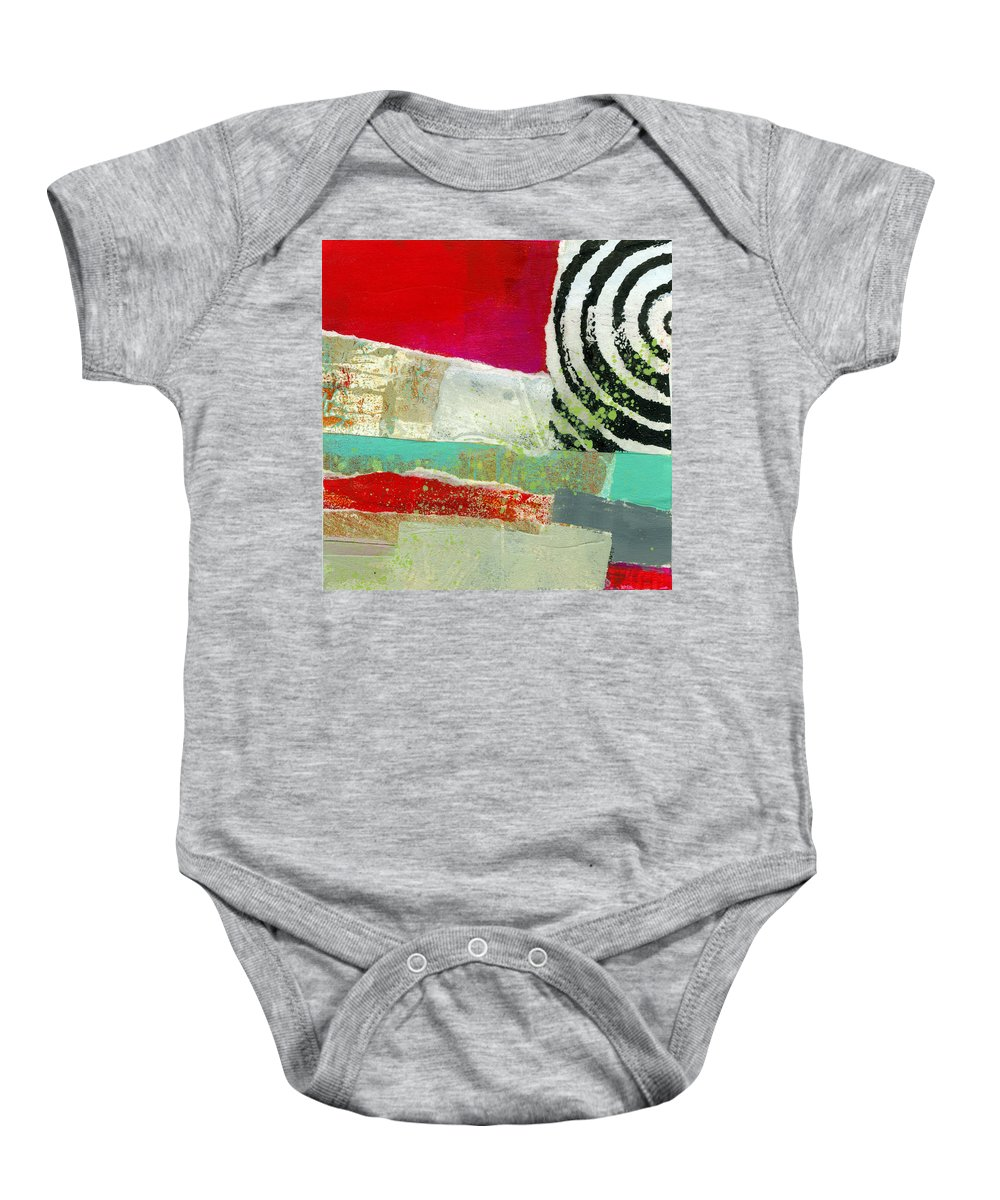 4x4 Baby Onesie featuring the painting Edge 49 by Jane Davies