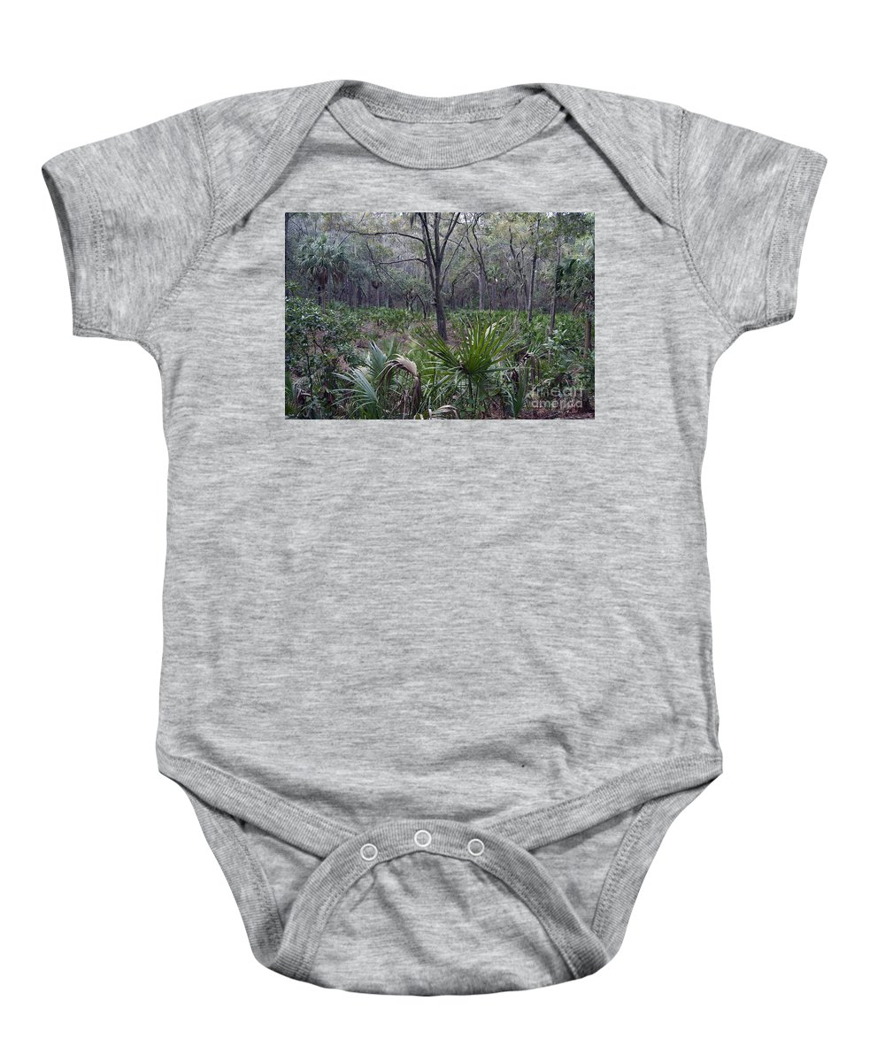 Nature Baby Onesie featuring the photograph First Impressions by Skip Willits