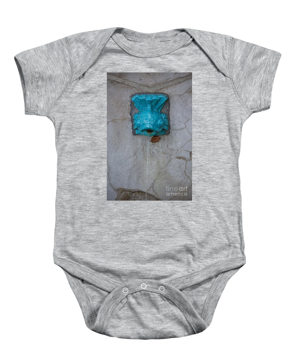 Fish Baby Onesie featuring the photograph Fish by Joseph Yarbrough