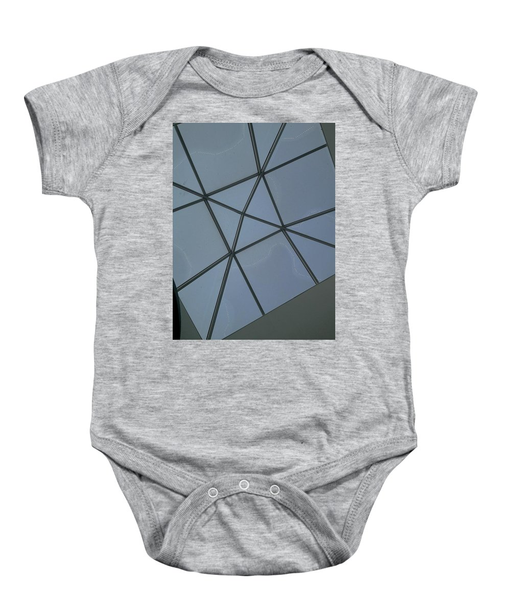 Christmas Lights Baby Onesie featuring the photograph Flint Air by Joseph Yarbrough