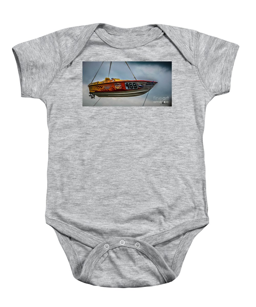 Offshore Baby Onesie featuring the photograph Flying High by Grace Grogan