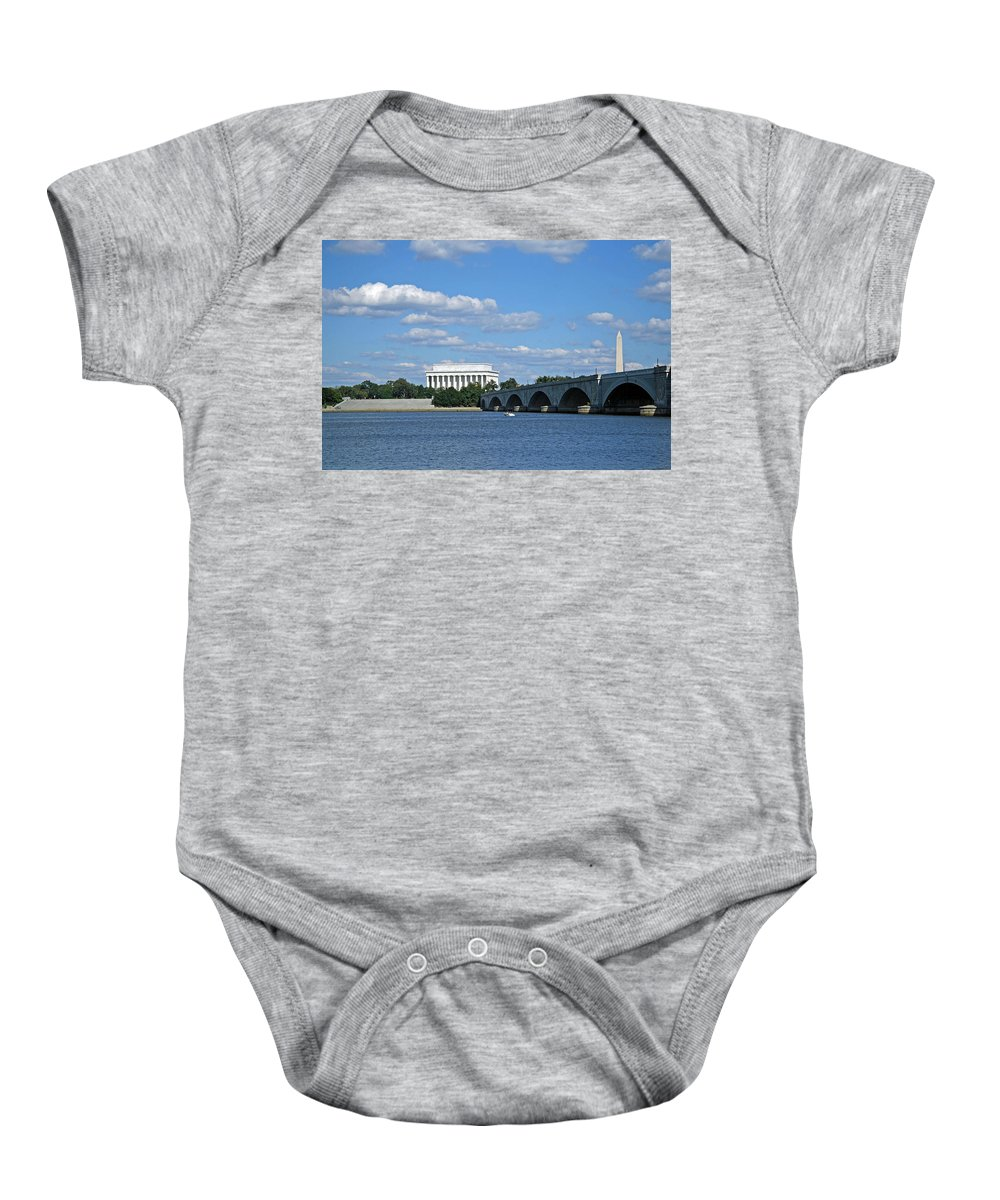 Potomac River Baby Onesie featuring the photograph From Across The River by Cora Wandel