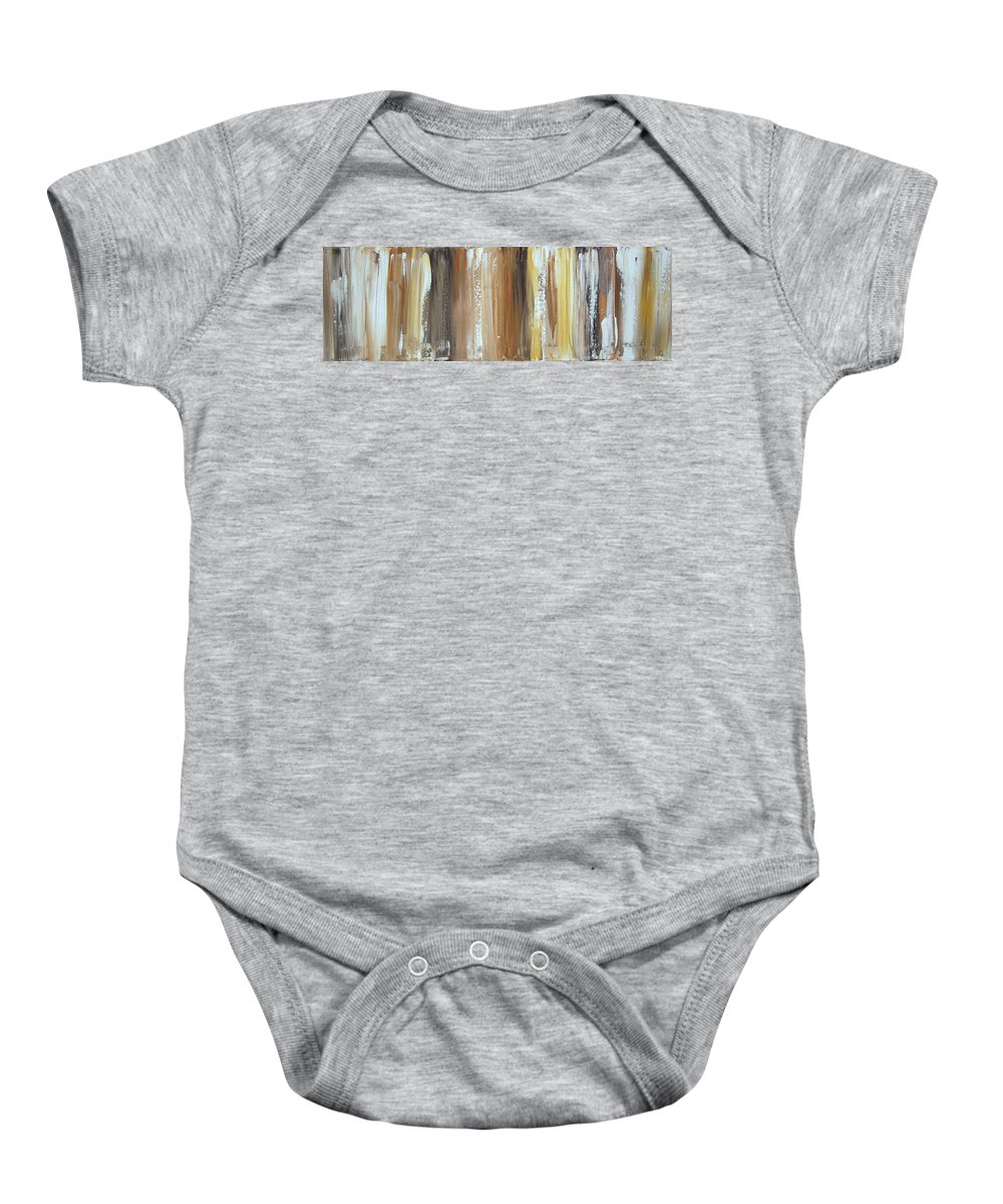 Sophisticated Baby Onesie featuring the painting From The Earth II by Megan Duncanson
