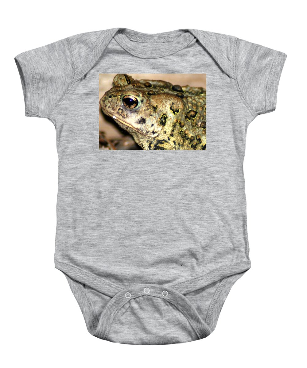 Baby Onesie featuring the photograph Frown by Optical Playground By MP Ray
