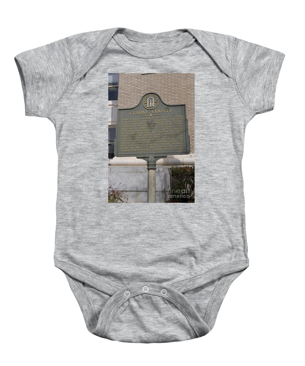 Travel Baby Onesie featuring the photograph Ga-29-4 Clarke County by Jason O Watson