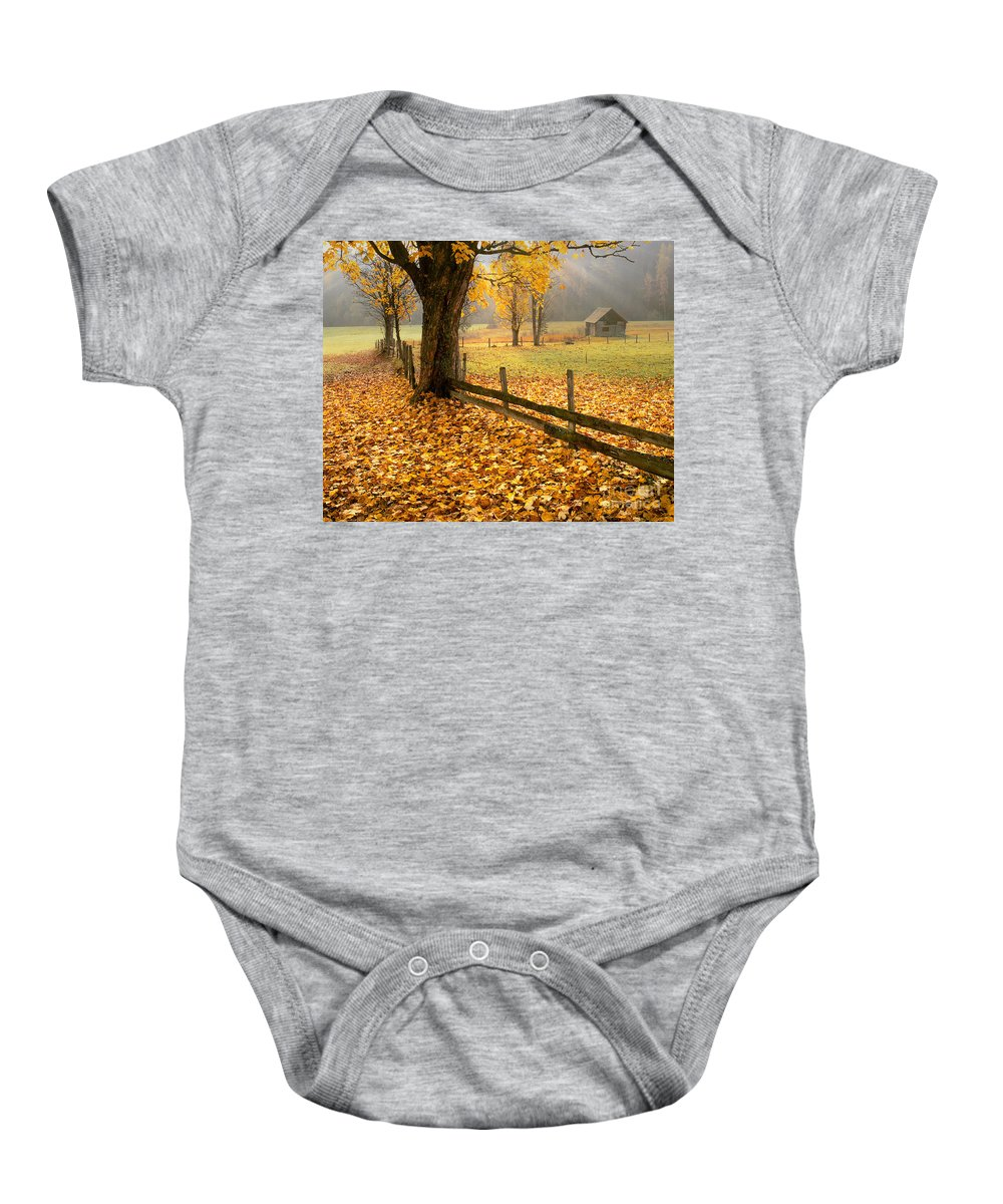 Europa Baby Onesie featuring the photograph Golden Hours by Edmund Nagele