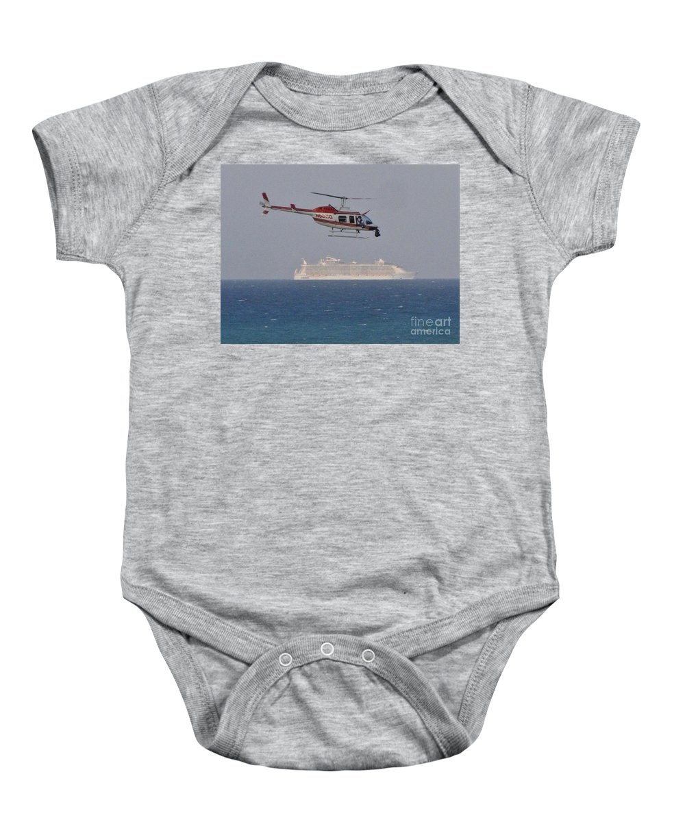 Kerisart Baby Onesie featuring the photograph Gottcha by Keri West