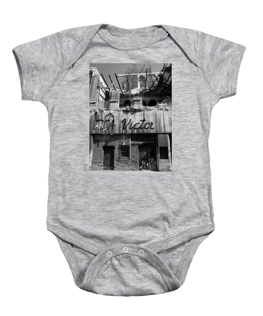 Havana Baby Onesie featuring the photograph Havana 9d by Andrew Fare