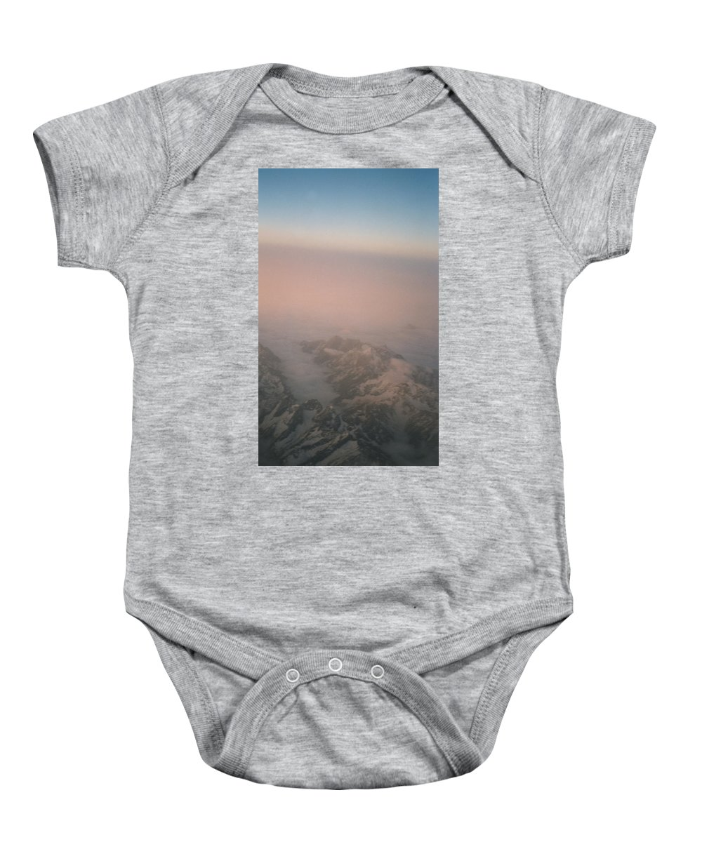 First Star Baby Onesie featuring the photograph Himalayas 3 by First Star Art