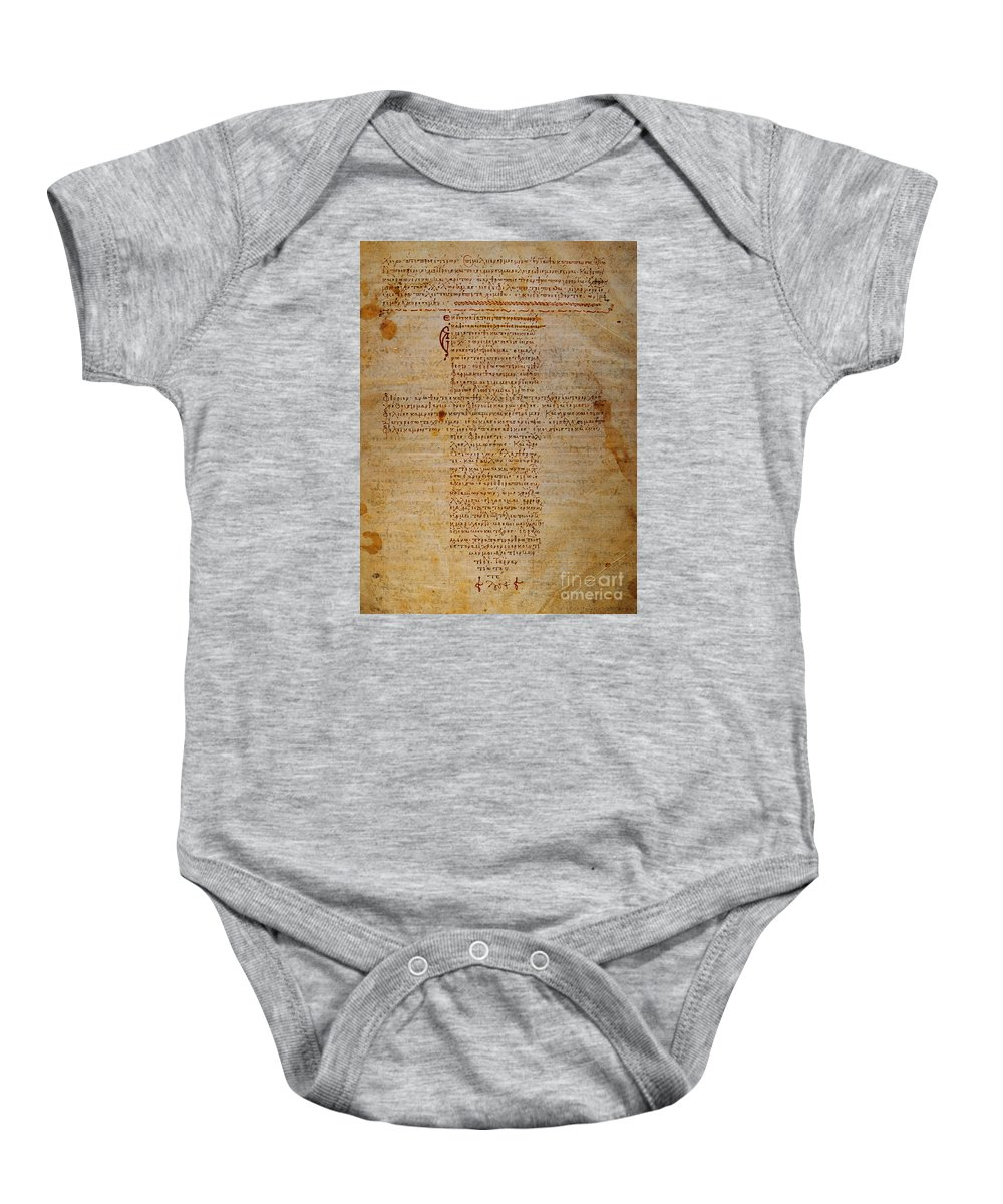 Hippocratic Oath Baby Onesie featuring the photograph Hippocratic Oath by Granger