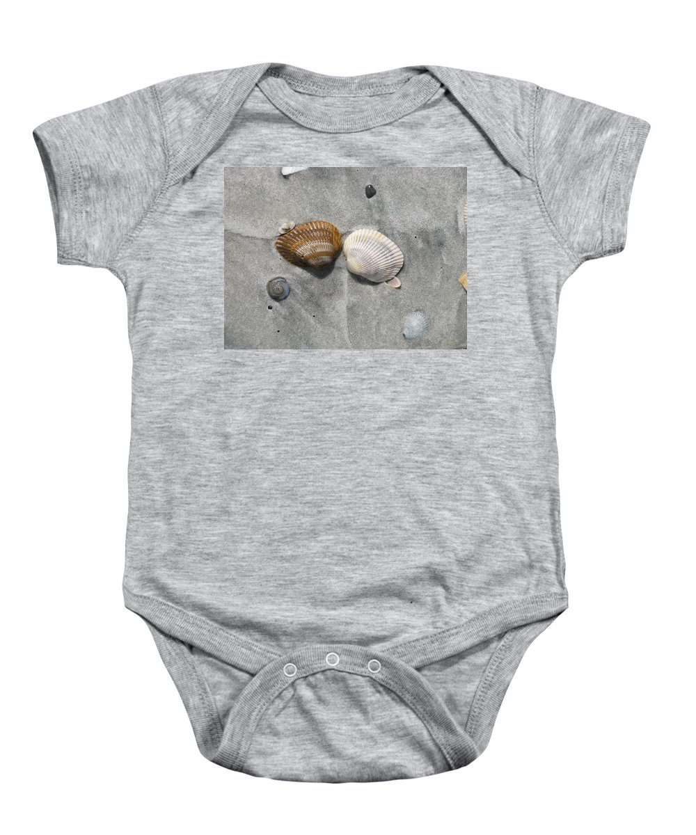 Landscape Baby Onesie featuring the photograph His And Hers by Ellen Meakin