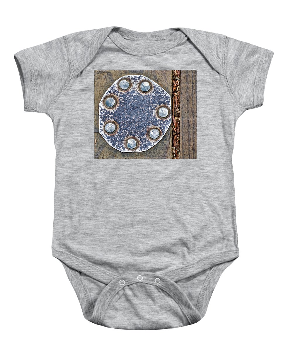 Hole Patch Baby Onesie featuring the photograph Hole Patch 2 John Muir Woods by Bill Owen