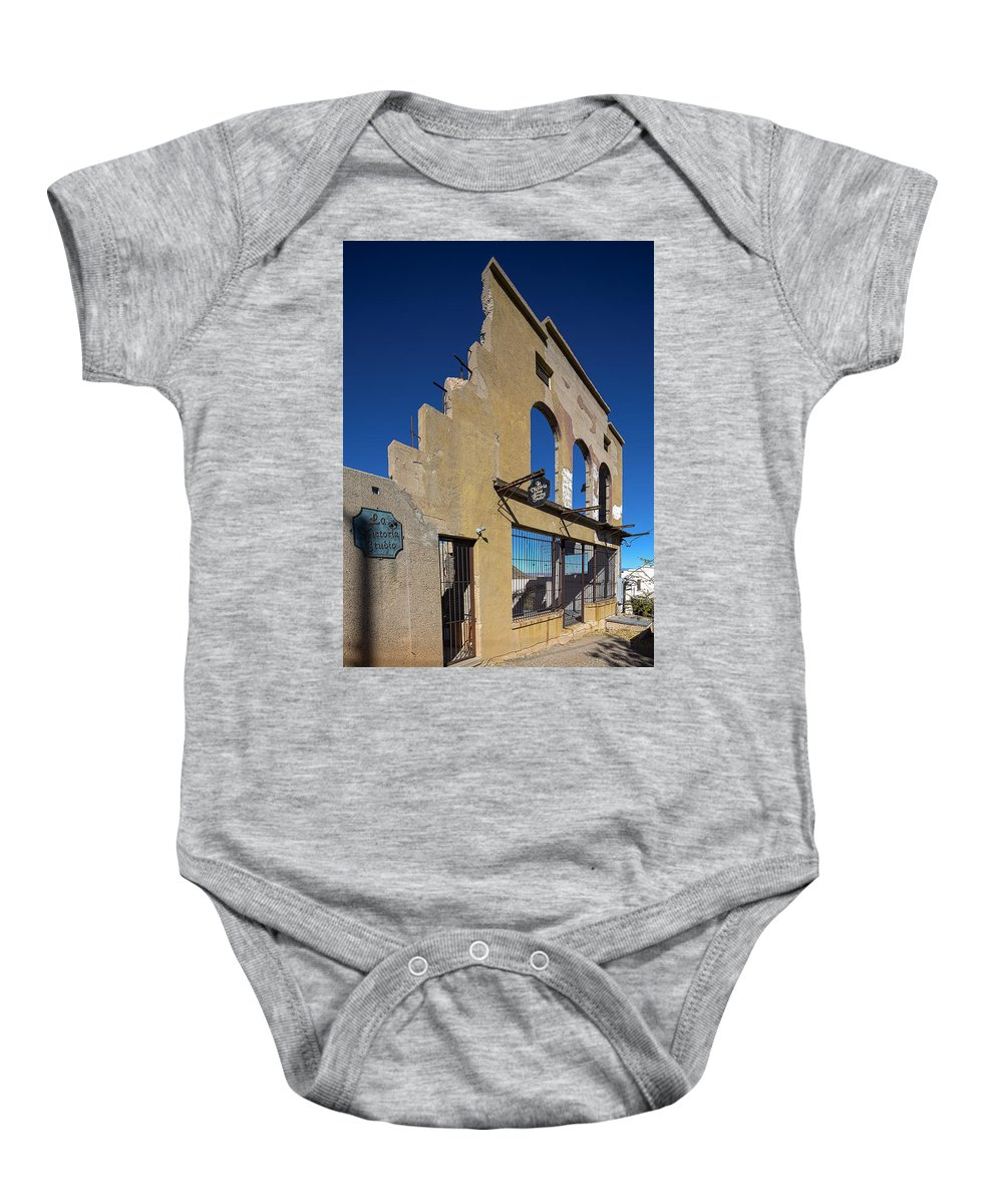 Abandoned Baby Onesie featuring the photograph Im Still Standing by Scott Campbell