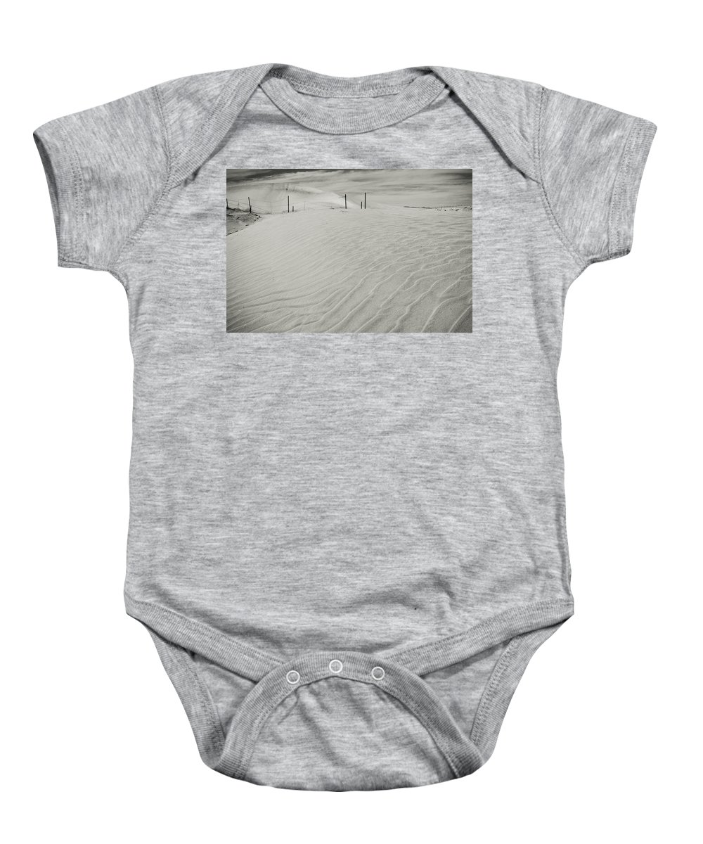 Palm Desert Baby Onesie featuring the photograph Inevitable by Laurie Search