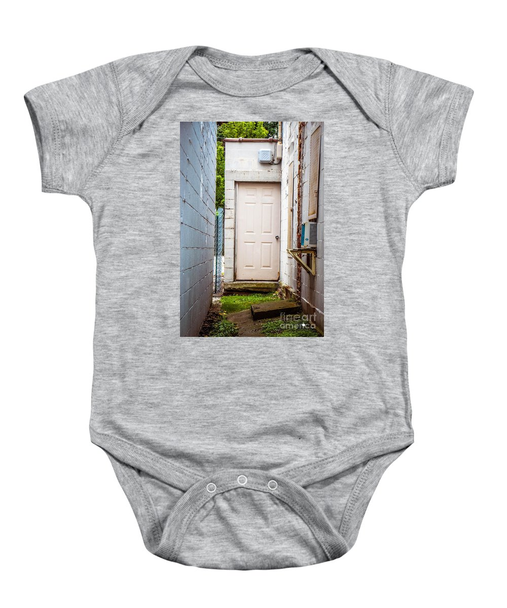 Entrance Baby Onesie featuring the photograph Interesting Entrance by Grace Grogan