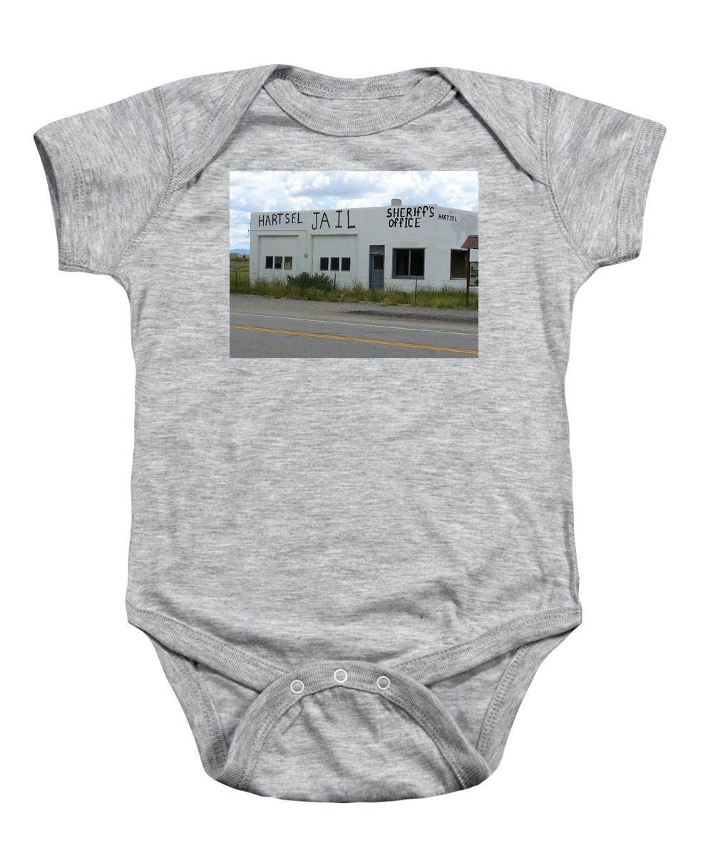 Lyle Baby Onesie featuring the painting Jail by Lord Frederick Lyle Morris