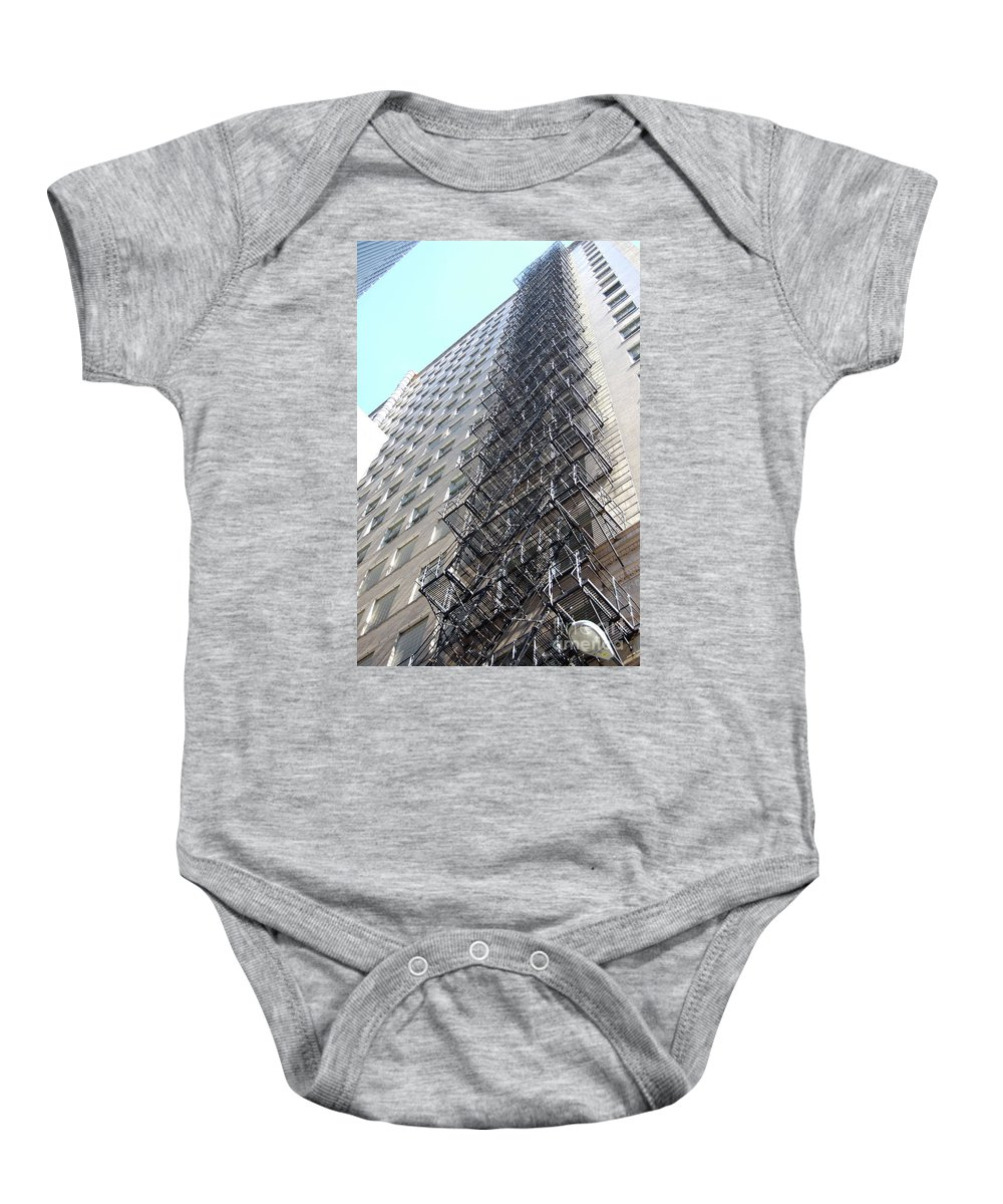 Architecture Baby Onesie featuring the photograph Jammer Architecture 010 by First Star Art