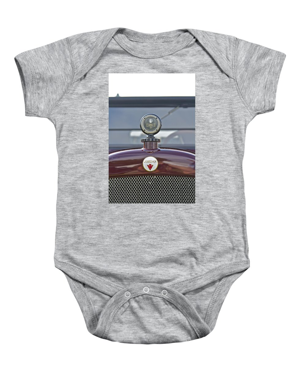 Jordon Baby Onesie featuring the photograph Jordan by Jack R Perry