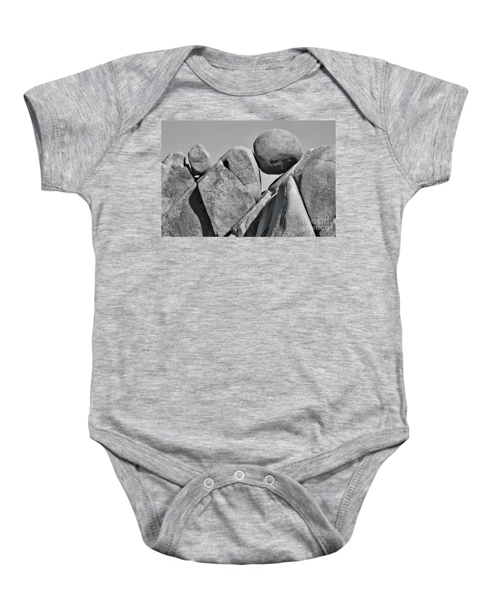 Joshua Tree National Park Baby Onesie featuring the photograph Joshua Tree Rocks by Jerry Fornarotto