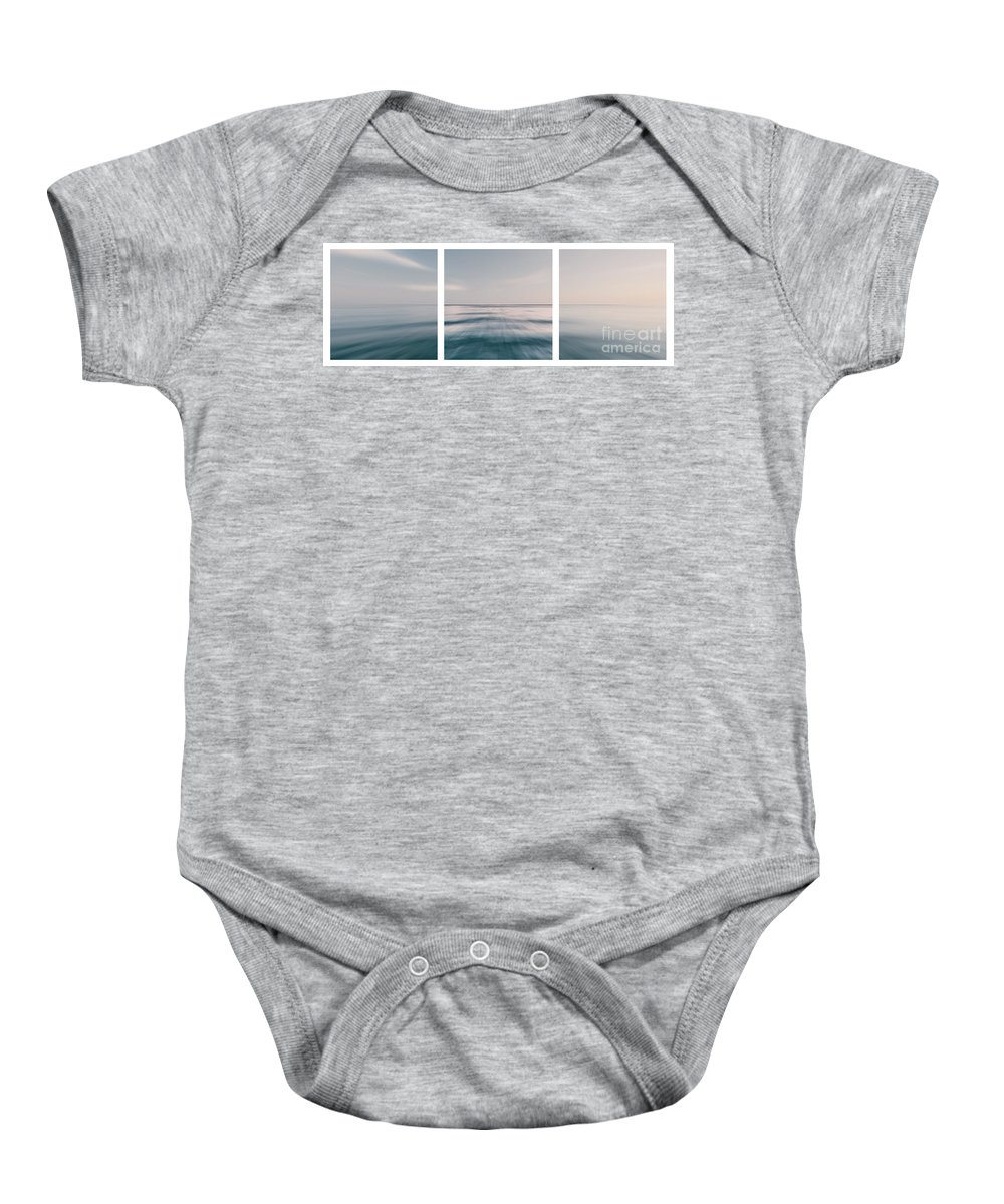Ocean Baby Onesie featuring the photograph Long Island Sound by Sabine Jacobs