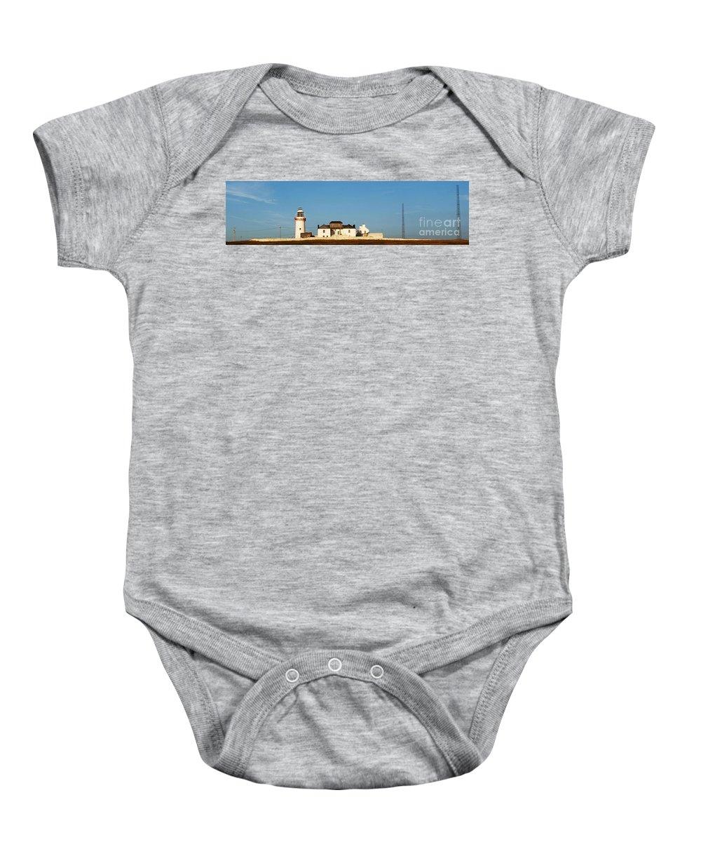 Loop Baby Onesie featuring the photograph Loop Head Lighthouse Nfs by Eamonn Hogan