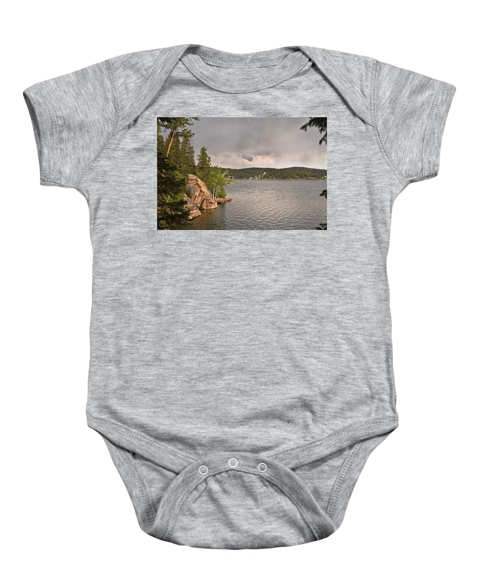Colorado Baby Onesie featuring the photograph Lucky Strike by Kim Upshaw