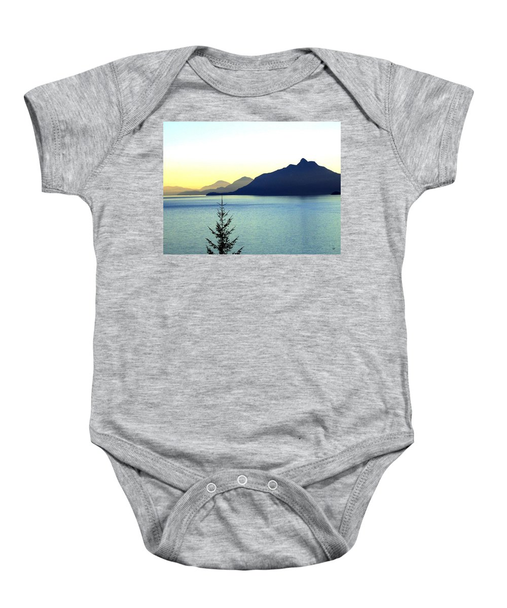 Vancouver Baby Onesie featuring the photograph Magnificent Howe Sound by Will Borden
