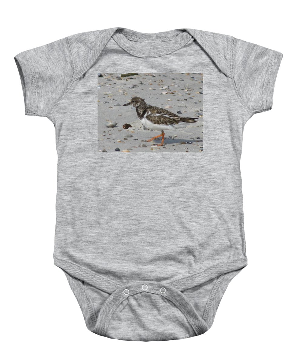 Landscape Baby Onesie featuring the photograph Marching Ruddy by Ellen Meakin