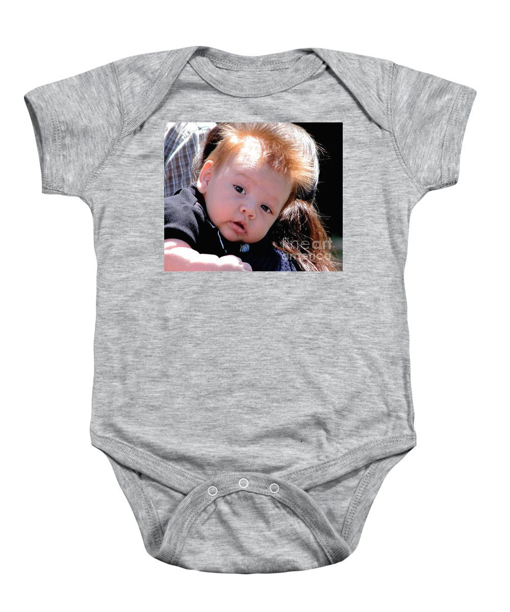 Baby Onesie featuring the photograph MC by Rory Sagner