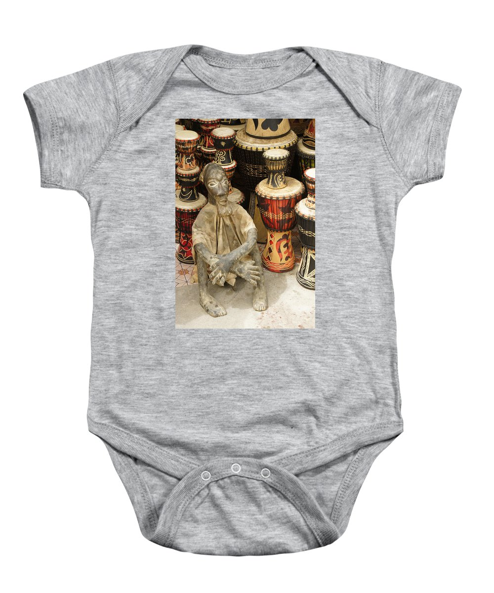 West Africa Baby Onesie featuring the photograph Memories Of Ghana by Michele Burgess