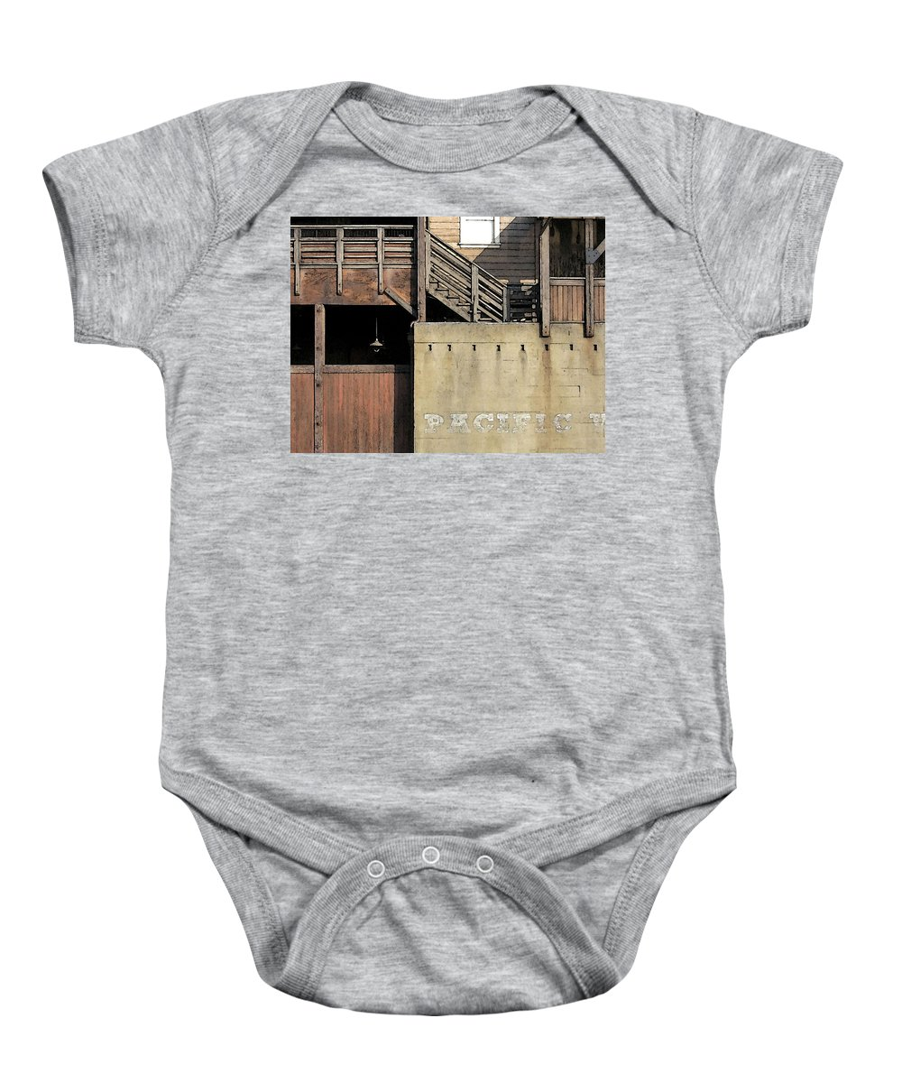 Digital Baby Onesie featuring the digital art Monterey by David Hansen